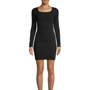 💖Helmut Lang Gala Long Sleeve Cutout Dress